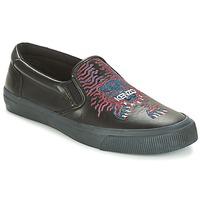 Zapatos Hombre Slip on Kenzo VELVET Negro