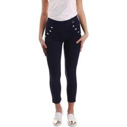 textil Mujer pantalones con 5 bolsillos Gaudì Jeans 73BD25203 Trousers Mujeres Blue