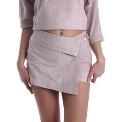textil Mujer Shorts / Bermudas Gaudì Jeans 73BD25204 Shorts Mujeres Beige Beige