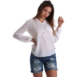 textil Mujer Tops / Blusas Gaudì Jeans 73BD47201 Blusa Mujeres Blanco Blanco