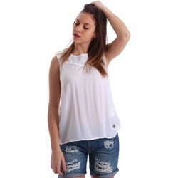 textil Mujer Tops / Blusas Gaudì Jeans 73BD47202 Blusa Mujeres Blanco Blanco