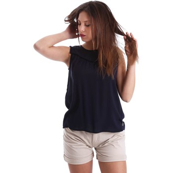 textil Mujer Tops / Blusas Gaudì Jeans 73BD47202 Blusa Mujeres Blue