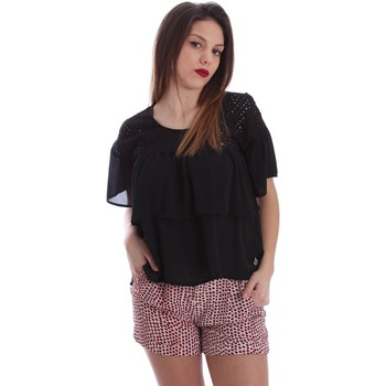 textil Mujer Tops / Blusas Gaudì Jeans 73BD47204 Blusa Mujeres Negro Negro