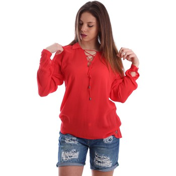 textil Mujer Tops / Blusas Gaudì Jeans 73BD47209 Blusa Mujeres Red
