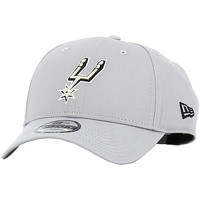 Accesorios textil Hombre Gorra New Era NBA Team 9 Forty San Antonio Spurs Gris