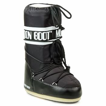 Zapatos Mujer Botas de nieve Moon Boot MOON BOOT NYLON Negro