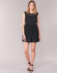 textil Mujer vestidos cortos Betty London GLATOS Negro