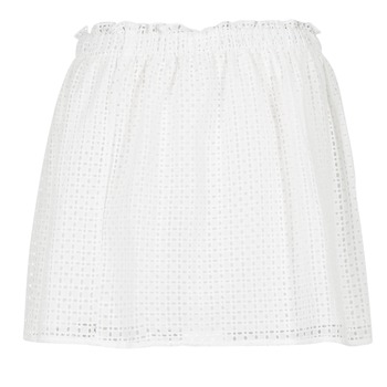 textil Mujer Faldas Betty London GIRMOU Blanco