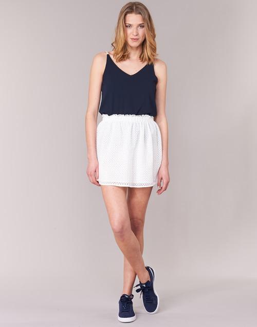 textil Mujer Faldas Betty London GIRMOU Blanco