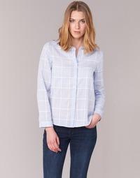 textil Mujer camisas Casual Attitude GAMOU Azul / Blanco