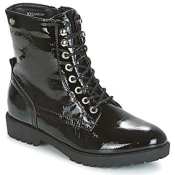 Zapatos Mujer Botas de caña baja Xti PAMIDI Negro
