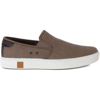 Zapatos Hombre Slip on Timberland Amherst Double Gore Blanco