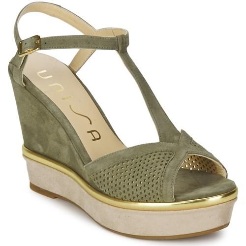 Zapatos Mujer Sandalias Unisa Sandalias Melus Verde