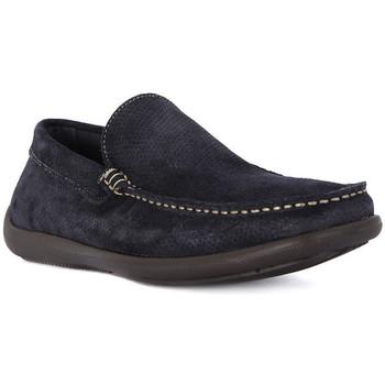 Zapatos Hombre Mocasín Frau CASTORO BLU Blu