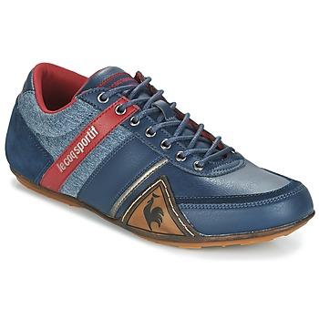 Zapatos Hombre Zapatillas bajas Le Coq Sportif ANDELOT S LEA/2TONES Azul / Rojo
