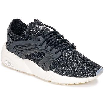 Zapatos Running / trail Puma BLAZE CAGE EVOKNIT Negro / Blanco