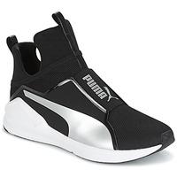 Zapatos Mujer Zapatillas altas Puma FIERCE core Negro
