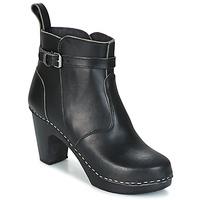 Zapatos Mujer Botines Swedish hasbeens HIGH HEELED JODHPUR Negro