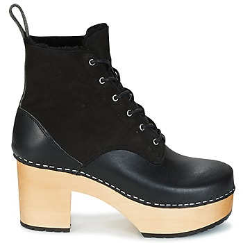 Swedish hasbeens HIPPIE LACE UP Negro