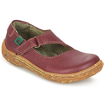 Zapatos Niña Botas de caña baja El Naturalista NIDO Burdeo