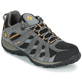 Zapatos Hombre Senderismo Columbia REDMOND WATERPROOF Negro