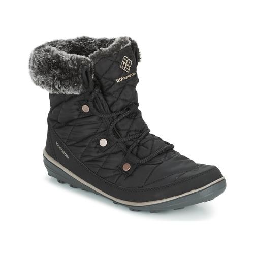 Venta de liquidación de temporada Zapatos especiales Columbia HEAVENLY SHORTY OMNI-HEAT Negro