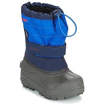 Zapatos Niños Botas de nieve Columbia CHILDRENS POWDERBUG PLUS II Marino