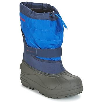 Zapatos Niños Botas de nieve Columbia YOUTH POWDERBUG™ PLUS II Marino