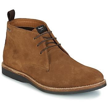 Zapatos Hombre Botas de caña baja Pepe jeans KENT CHUCCA Marrón