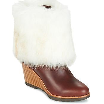 Zapatos Mujer Botas de caña baja Sorel PARK CITY SHORT Marrón