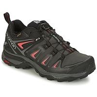Zapatos Mujer Senderismo Salomon X ULTRA 3 GTX® Negro / Rojo