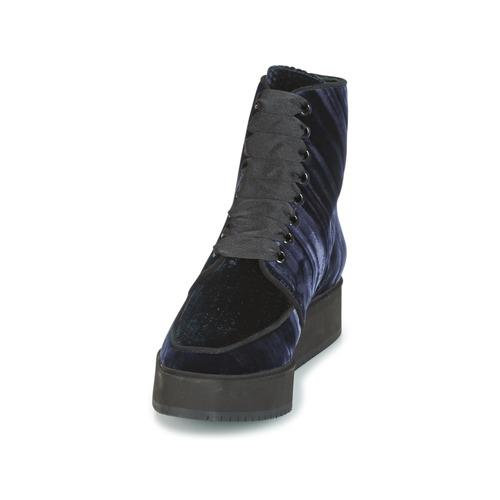 Fortaleza De Azul Zapatos Baja Botas Castaner Mujer Caña RL345Aj