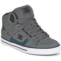 Zapatos Hombre Zapatillas altas DC Shoes SPARTAN HIGH WC Gris / Verde