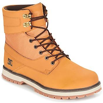 Zapatos Hombre Botas de caña baja DC Shoes UNCAS M BOOT TBK Beige / Negro / Marrón