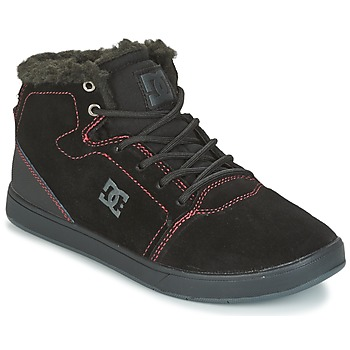 Zapatos Niños Zapatillas altas DC Shoes CRISIS HIGH WNT Negro / Rojo / Blanco