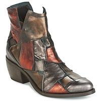 Zapatos Mujer Botas de caña baja Dkode JOELLE-MULTICOLORE-029 Marrón