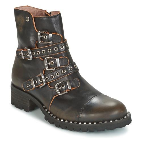 Dkode UMBRIA-BLACK-001 Negro - - Envío gratis Nueva promoción - - Zapatos Botas de caña baja Mujer 167,20 a73857