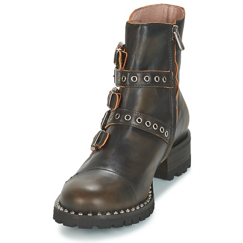 Baja Dkode De 001 Umbria Negro Botas Caña Zapatos Mujer black P80wOkn