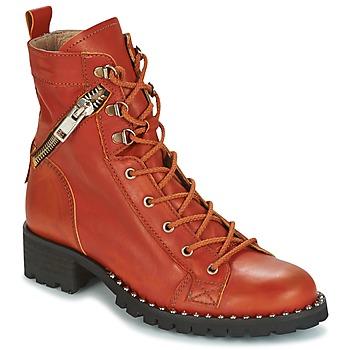 Zapatos Mujer Botas de caña baja Dkode UDELE-OCRE-008 Ocre