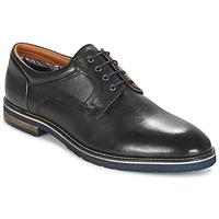 Zapatos Hombre Derbie Salamander VASCO-AW Negro