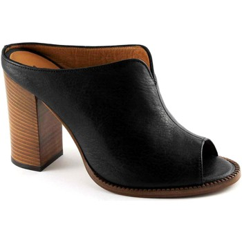 Zapatos Mujer Sandalias Malù Malù MAL-E17-1445-NE Nero