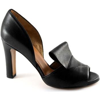 Zapatos Mujer Sandalias Malù Malù MAL-E17-1460-NE Nero