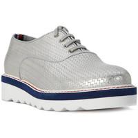 Zapatos Mujer Derbie Tommy Hilfiger PELLE SILVER Grigio