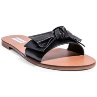Zapatos Mujer Zuecos (Mules) Steve Madden Knots black-leather black-leather