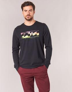 textil Hombre Camisetas manga larga Billabong INVERSE TEE LS Negro