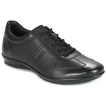 Zapatos Hombre Zapatillas bajas Geox UOMO SYMBOL Negro