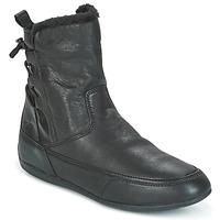 Zapatos Mujer Botas de caña baja Geox D NEW MOENA Negro