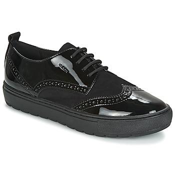 Zapatos Mujer Derbie Geox D BREEDA Negro