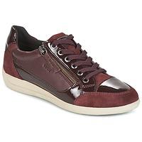 Zapatos Mujer Zapatillas bajas Geox D MYRIA Burdeo