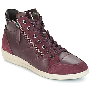 Zapatos Mujer Zapatillas altas Geox D MYRIA Burdeo
